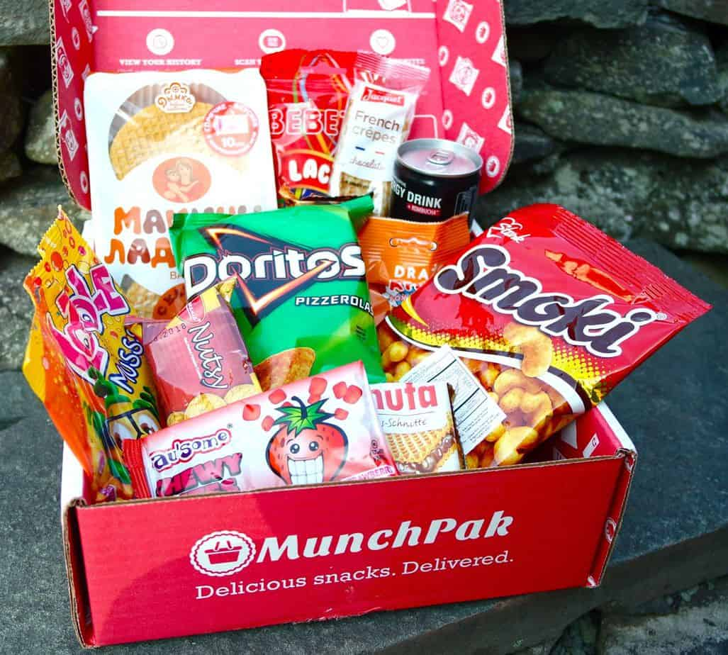 snack and food subscription box