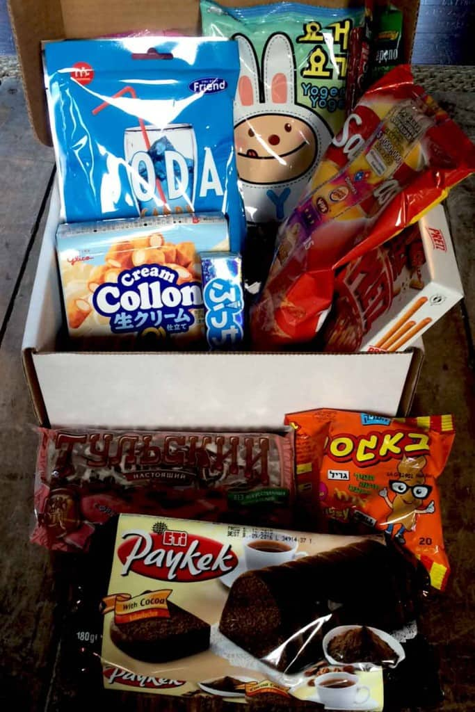 MunchPak subscription box for review munchpack