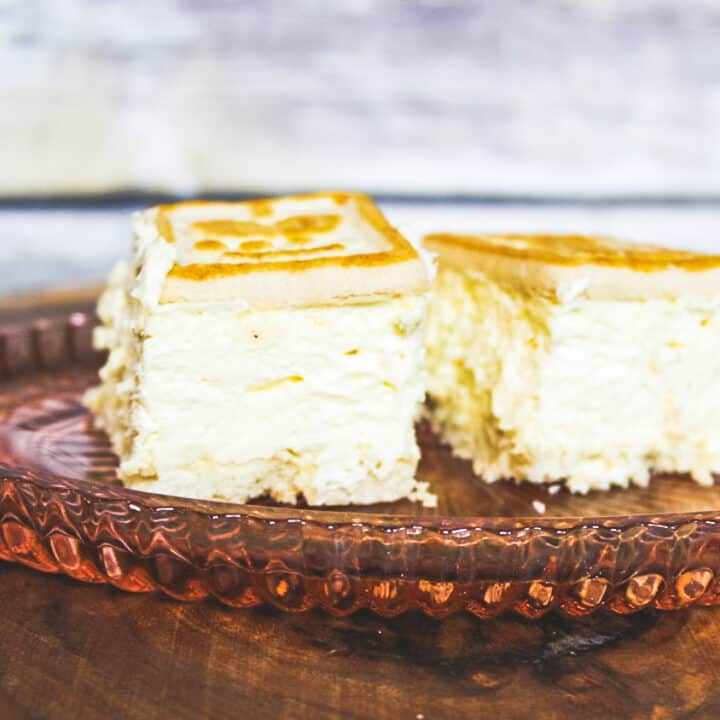 Easy No Bake Cheesecake Bars