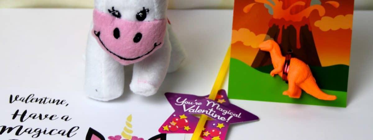 free unicorn printable valentine's day card