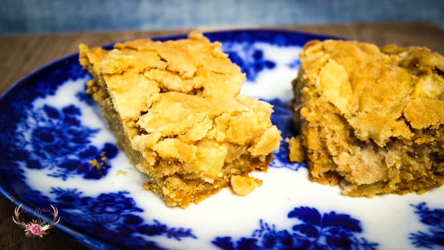 one bowl apple bars