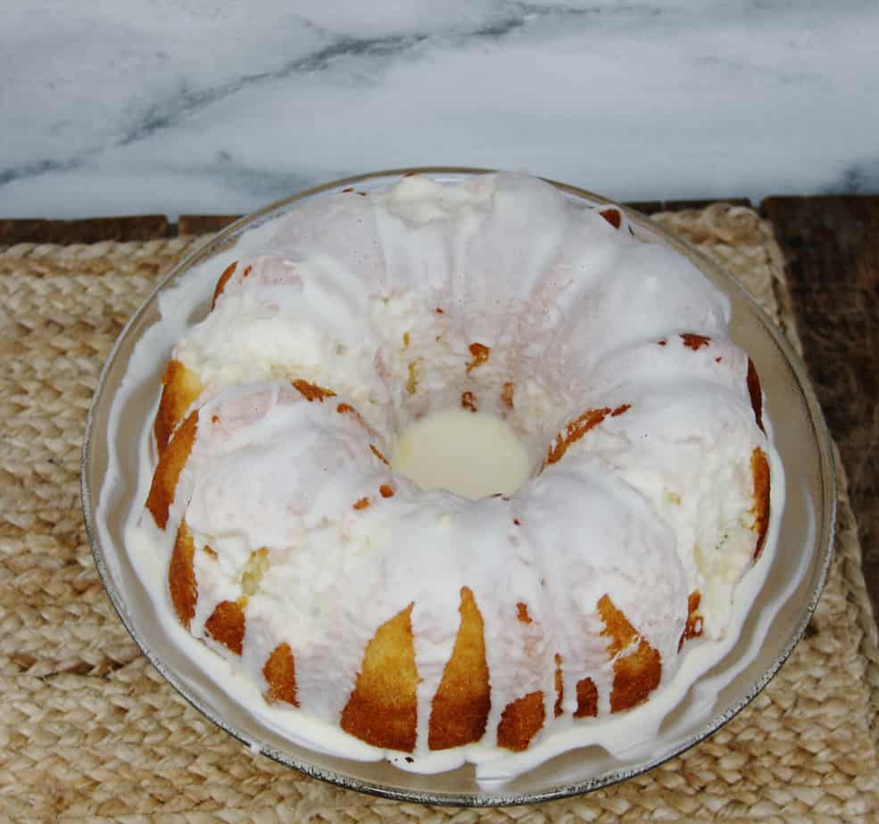 easy orange extract cake