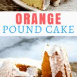 easy orange moist bundt cake