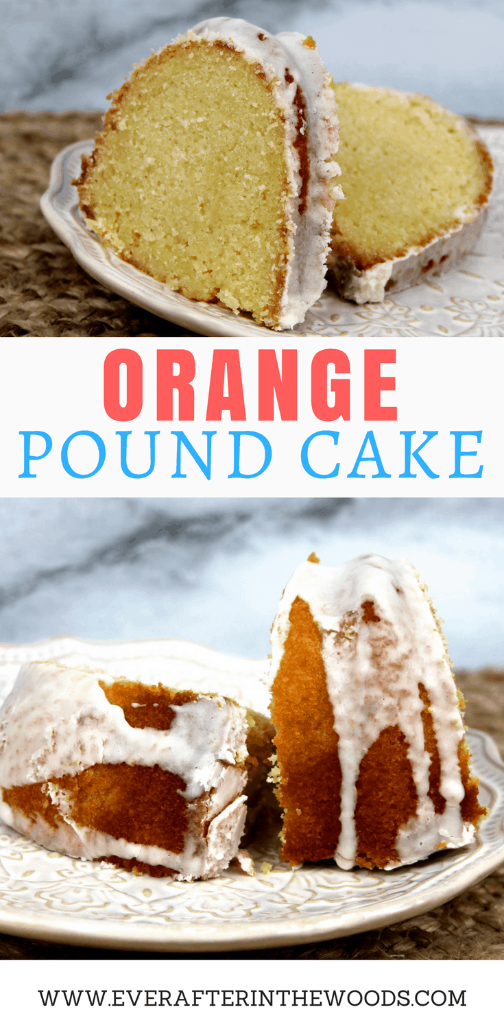 easy orange moist bundt cake