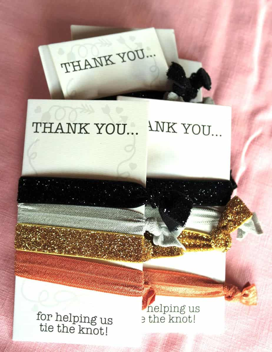 package of something small to say thank you
