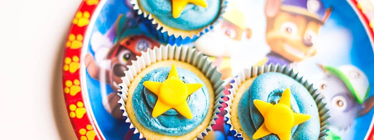 With Chase being our favorite dog character on the show. If you have a toddler, these Paw Patrol Cupcakes are exactly what you need to make the everyday special.