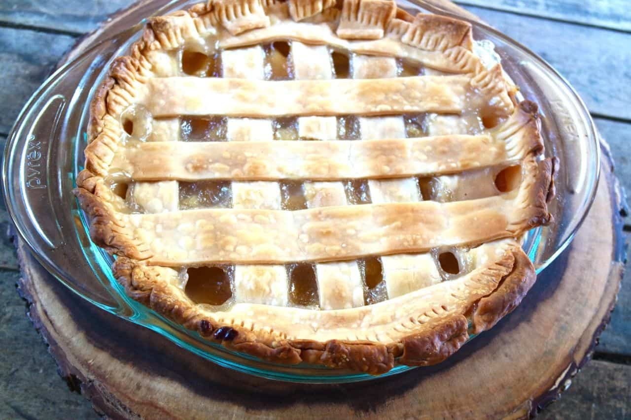 how to make a homemade peach pie