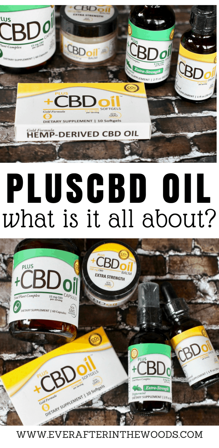 Review of PlusCBD Oil - Ever After in the Woods