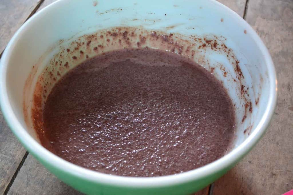 choclate pudding