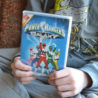 Power Rangers Lost Galaxy 5 DVD Box Set Releases March 10