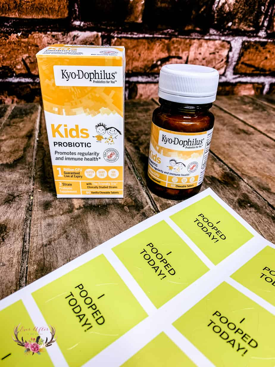 Get Things Moving with Kyo-Dophilus Probiotics
