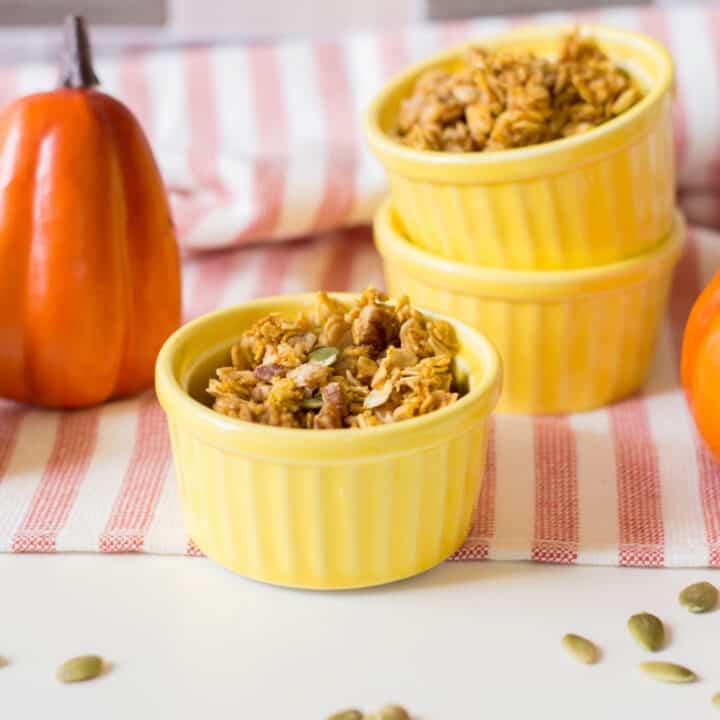 pumpkin spice granola recipe
