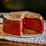 instant pot red velvet cheesecake dessert recipe