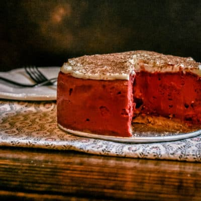 instant pot red velvet cheesecake dessert