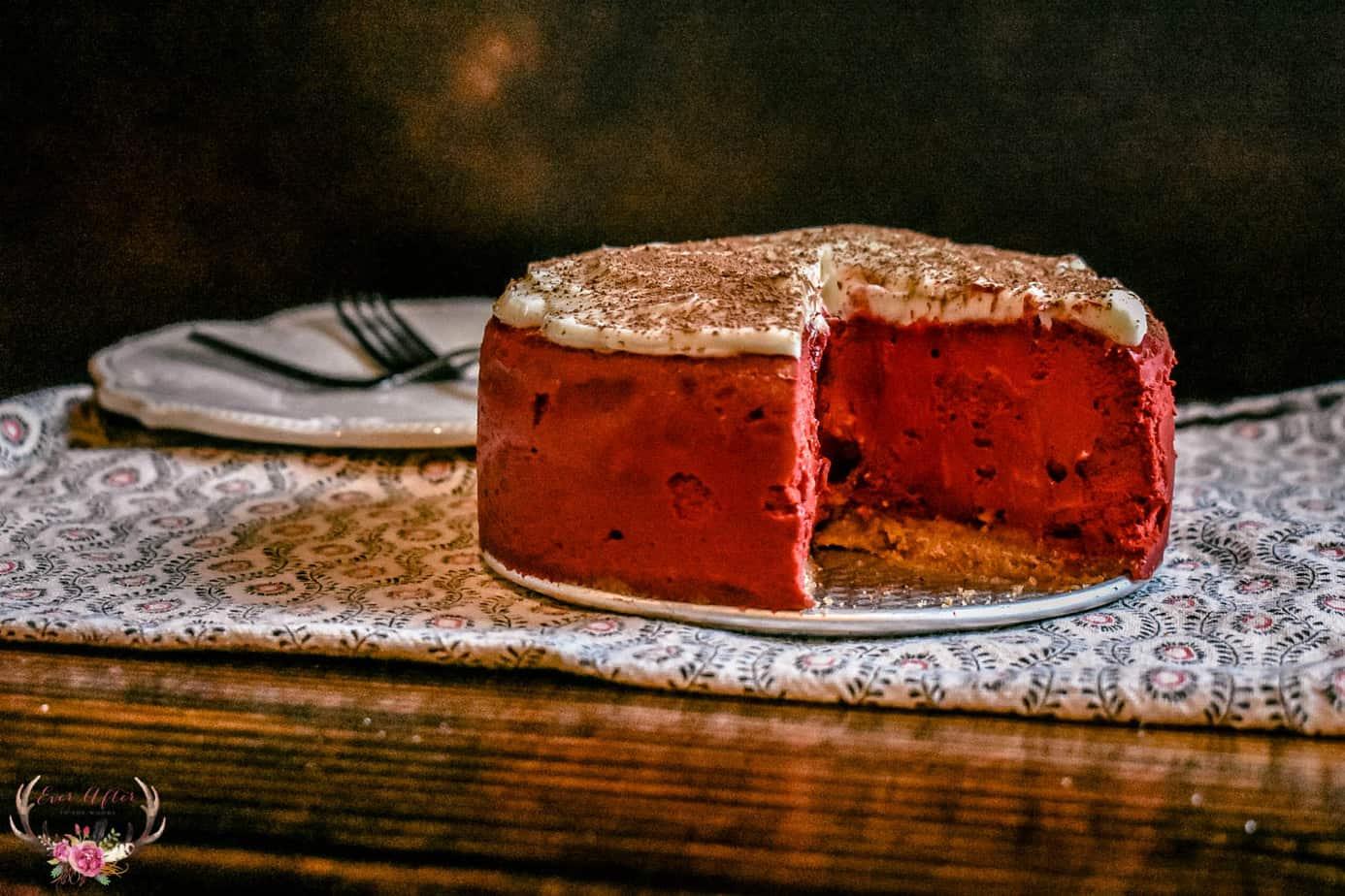 instant pot red velvet cheesecake dessert