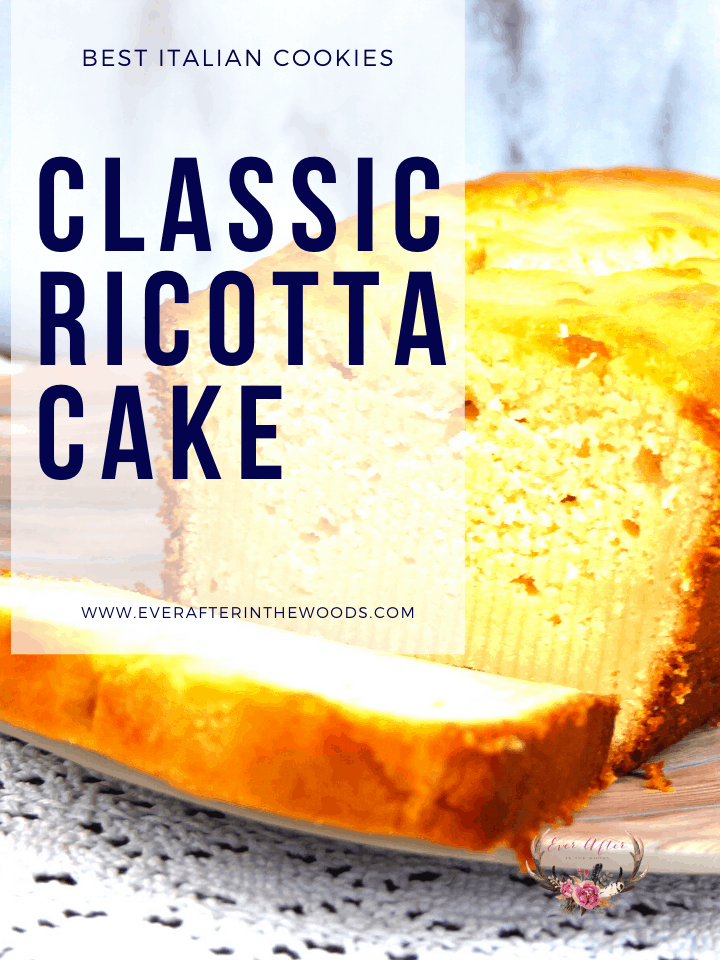 classic ricotta cake