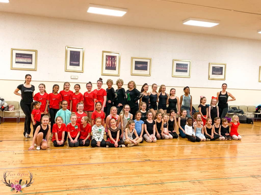 dance lesson with radio city music hall rockettes