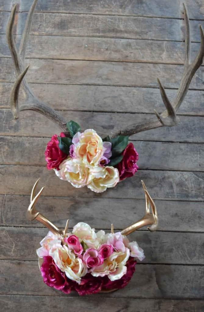 Diy antler décor Decorating with deer antler