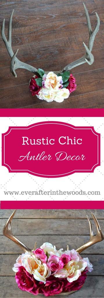 rustic-chic-antler-decor