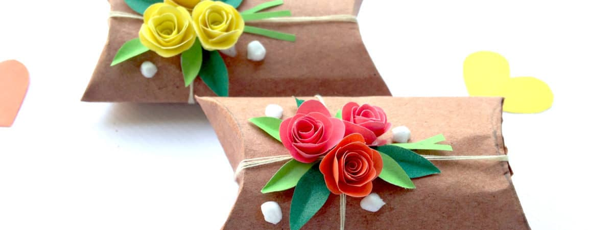valentines day paper craft for kids or spring