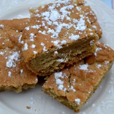 Soft and Gooey Snickerdoodle Bars Recipe