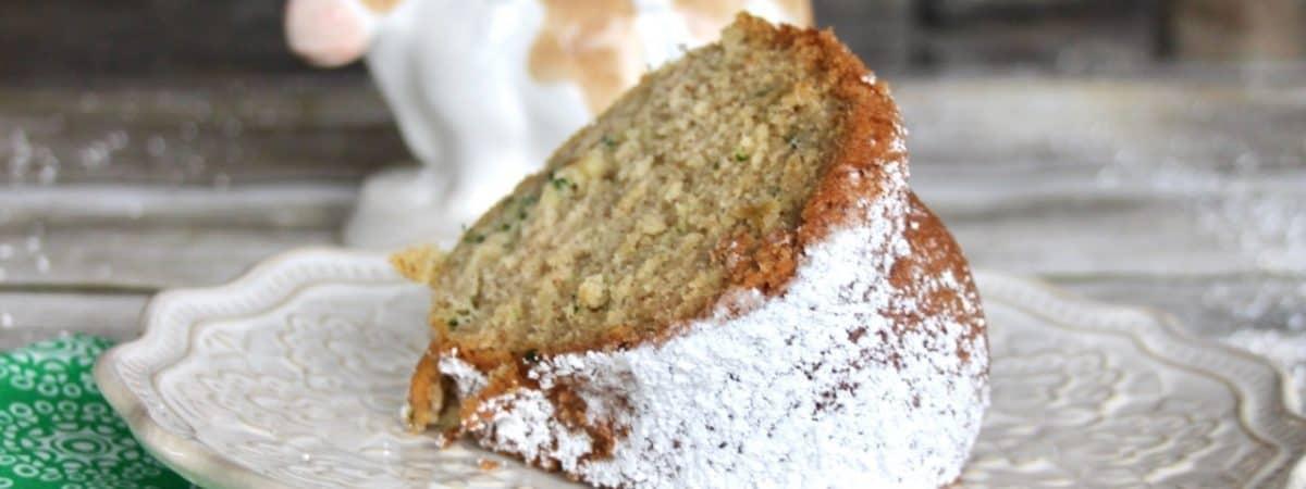 zucchini cake and bread