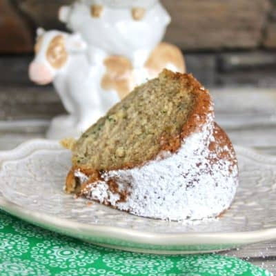 zucchini cake and bread