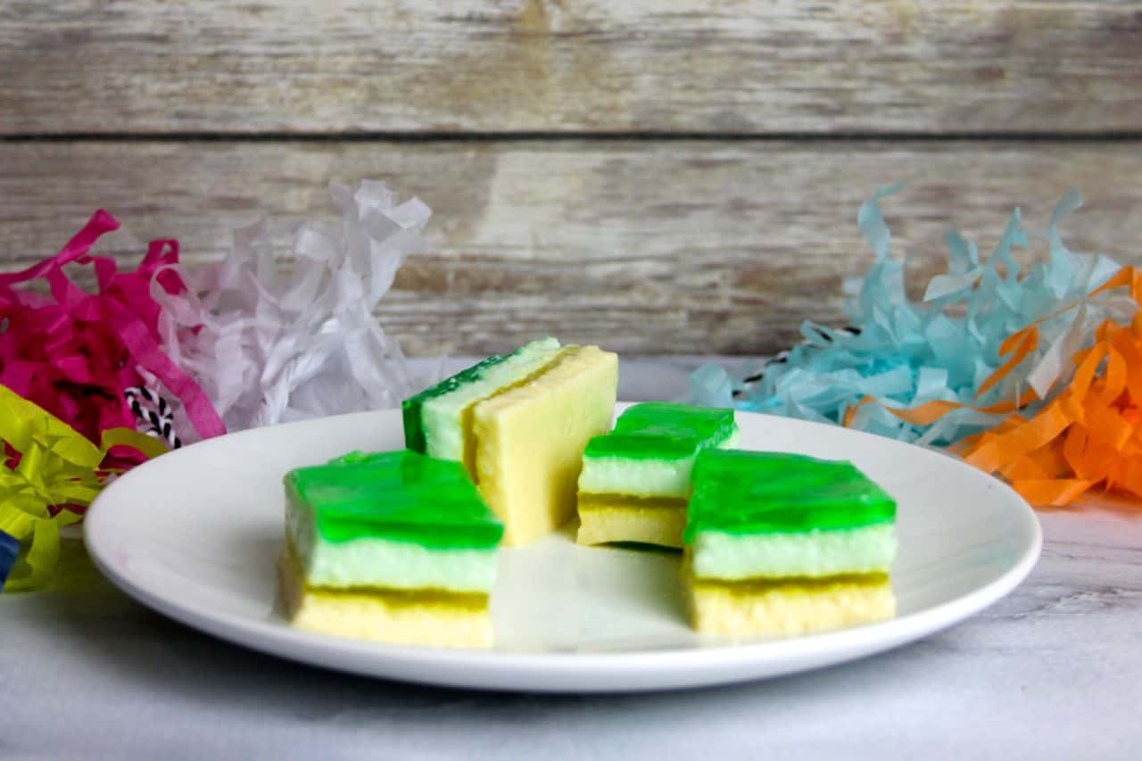 layered jell-o bars spring