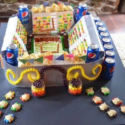 Make a Snack Stadium for the Big Game