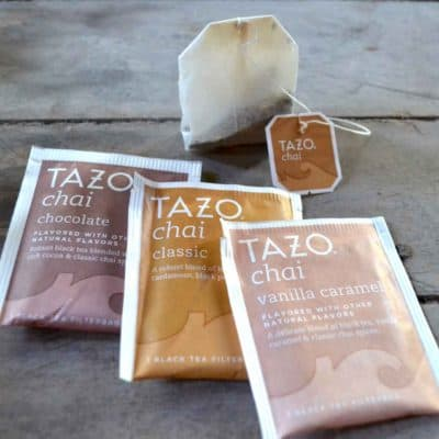 Cozy Up With a Cup of Tazo Chai Tea this Season & Recipe