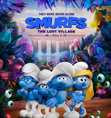 Smurfs The Lost Village will release nationwide on April 7
