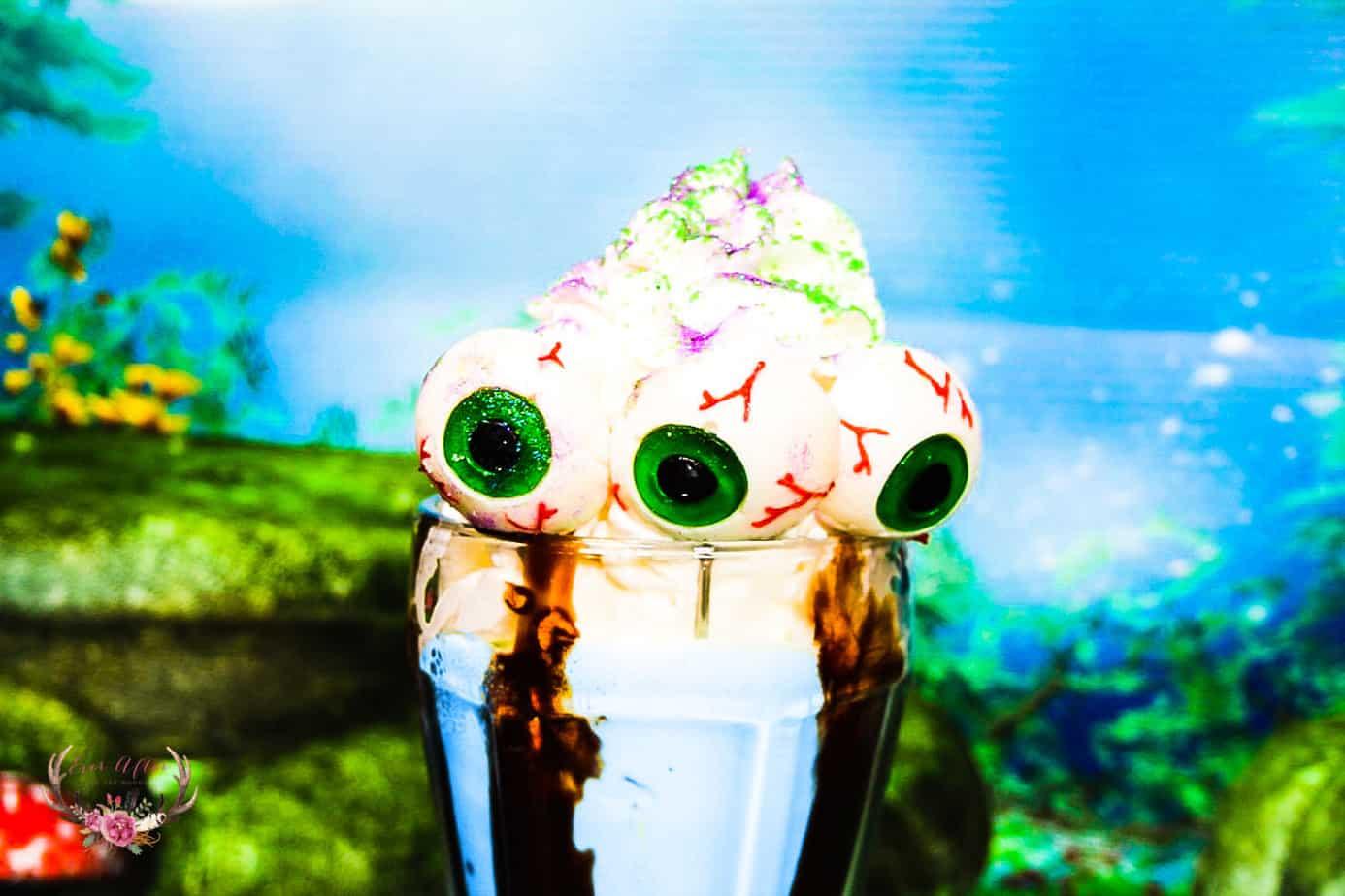 halloween monster milkshake