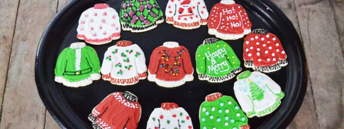 Ugly Sweater Christmas Cookies Diy Ever After In The Woods