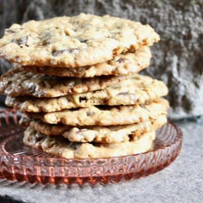 Ultimate Chocolate Chunk Oatmeal Cookies