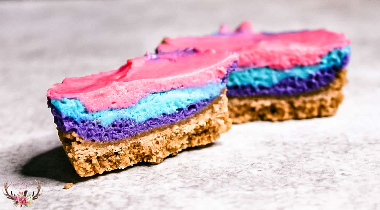 easy unicorn poop dessert