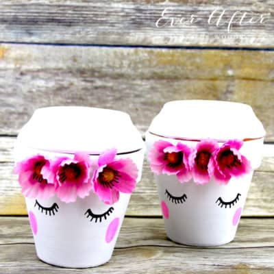 easy to make cute face planter