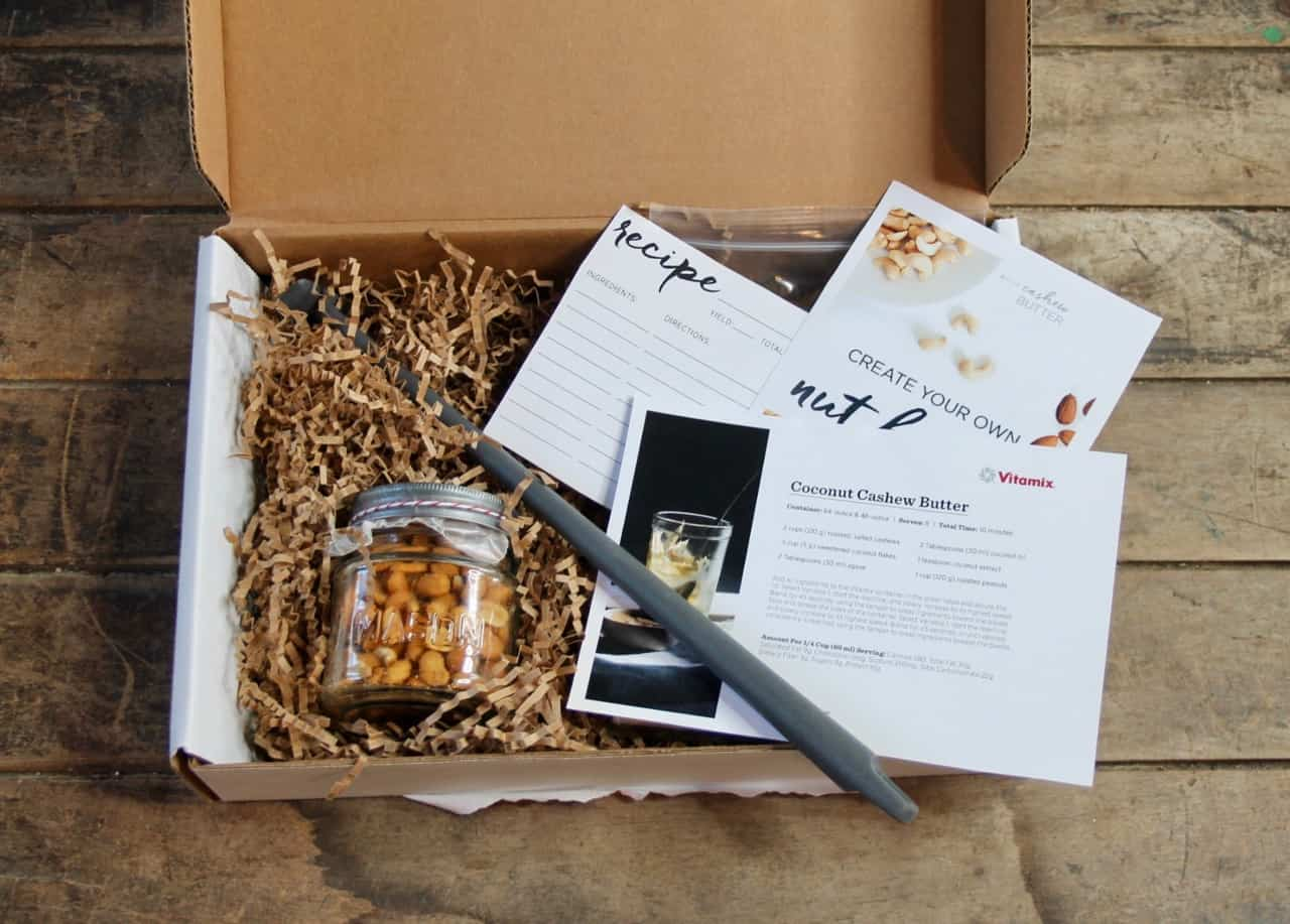 nut butter blogger kit