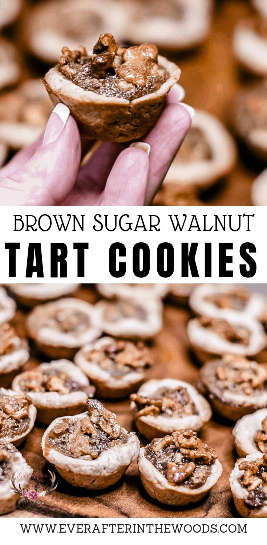 walnut brown sugar tassie