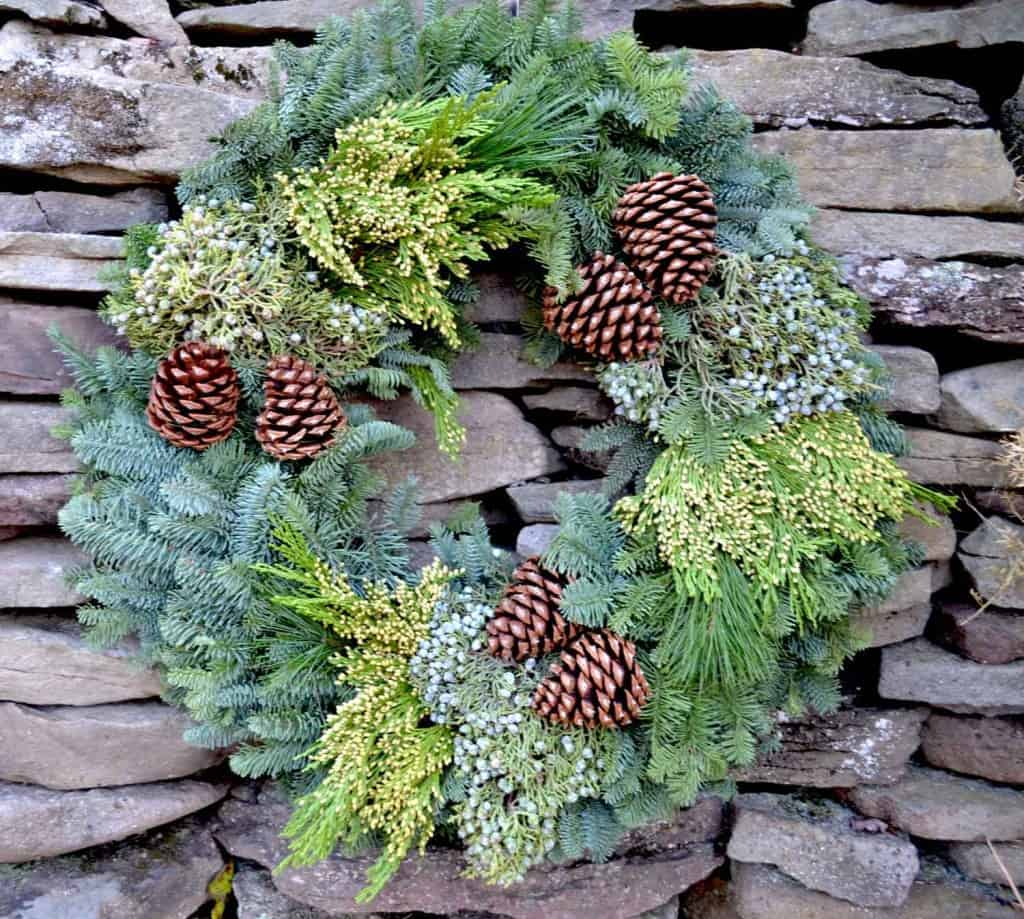 christmas forest wreath review