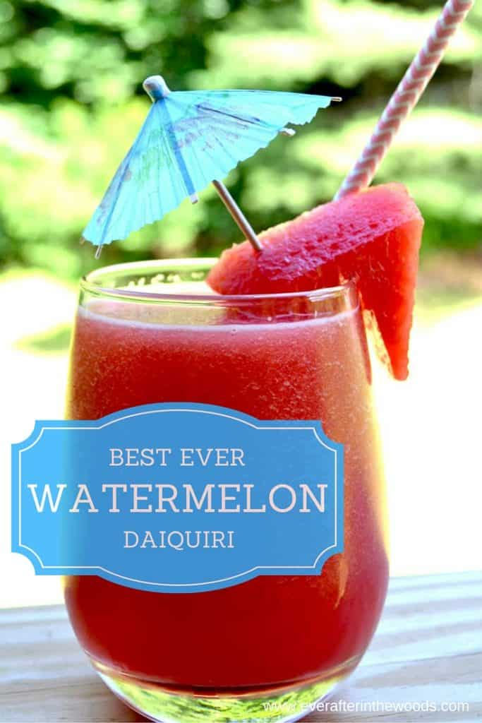 watermelon frozen drink slushie summer cocoktail daiquiri